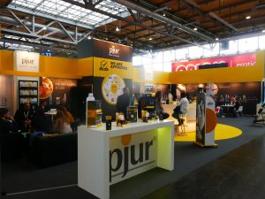 The pjur group presence at eroFame erotic trade fair, Hanover - interview with erotic marketing agency, Lascivious Marketing [credit: pjur group, Luxembourg, S.A.]]