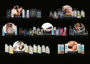 pjur group product range , interview with Eva Lerbs from pjur group, by erotic marketing agency Lascivious Marketing [credit: pjur group Luxembourg S.A.]